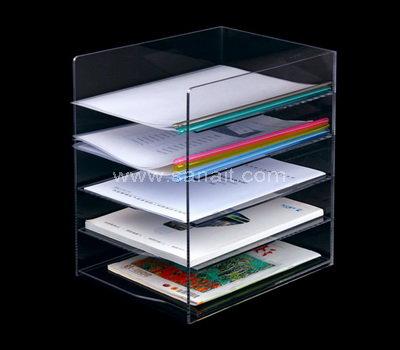 Custom Clear File Organizers