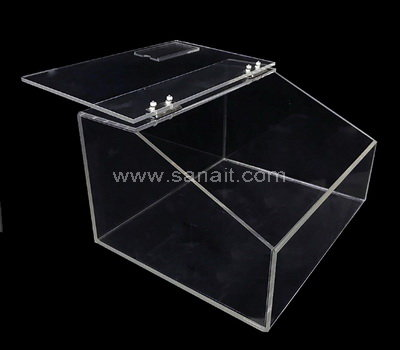 Acrylic bulk food holder