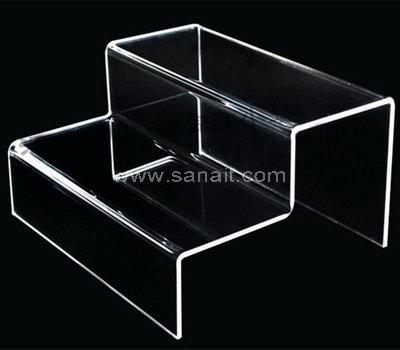 Custom clear acrylic display riser