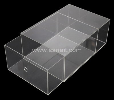 Custom acrylic drawer box for shoe