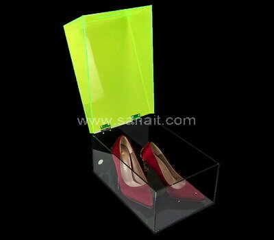 SAAB-131-1 Double color acrylic shoe box