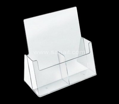 Custom acrylic brochure dispenser