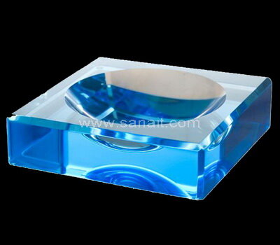 SACA-022-1 Square Bowl Acrylic Charm Bowls Lucite Chocolate Candy Bowl