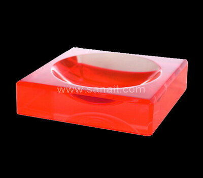 SACA-022-2 Square Bowl Acrylic Charm Bowls Lucite Chocolate Candy Bowl