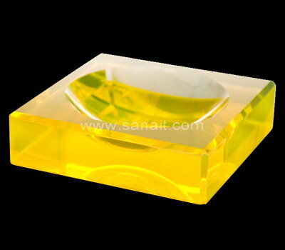 SACA-022-3 Square Bowl Acrylic Charm Bowls Lucite Chocolate Candy Bowl