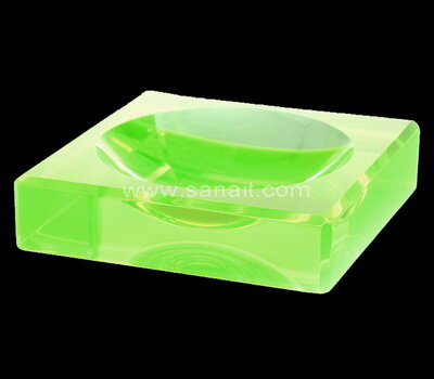 SACA-022 Square Bowl Acrylic Charm Bowls Lucite Chocolate Candy Bowl