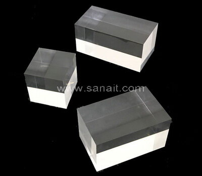 Custom clear acrylic blocks