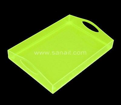 Custom acrylic serving tray