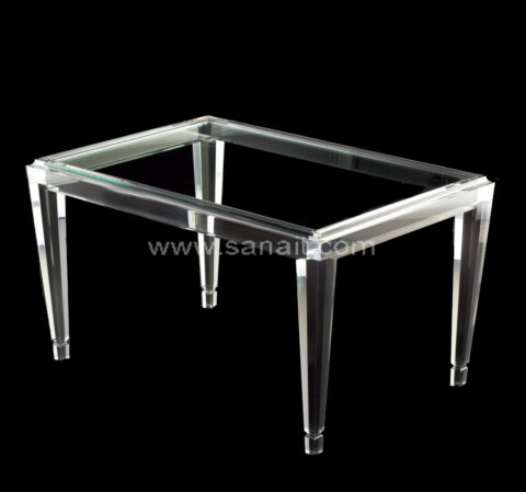 Acrylic Bed Tray with handles wholesale