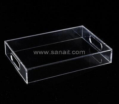 Custom plexiglass serving trays