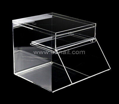 Clear Acrylic Candy Box Plastic Candy Bin Wholesale