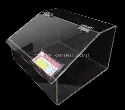 Custom Plexiglass Candy Bin Acrylic Candy Dispenser