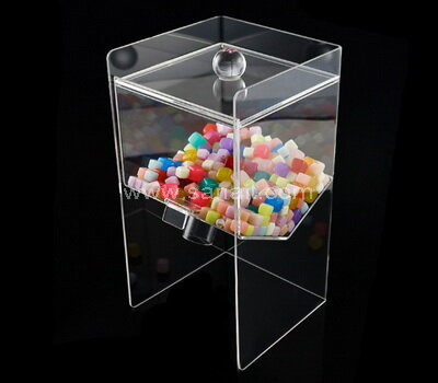 Custom clear acrylic candy display box