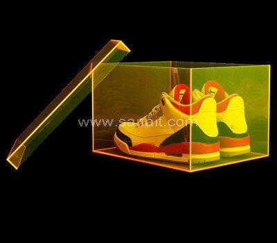 SAAB-135-1 Custom luxury acrylic shoe box
