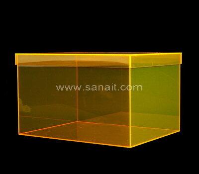 SAAB-135-2 Custom luxury acrylic shoe box