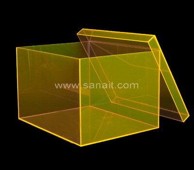 SAAB-135-3 Custom luxury acrylic shoe box