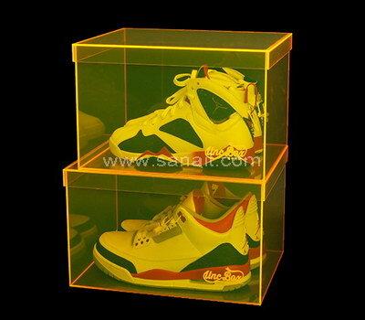 Custom luxury acrylic shoe box
