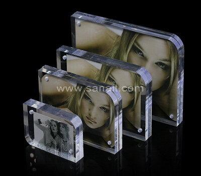 Custom acrylic block photo frame